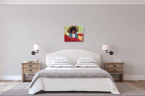 תמונה לחדר שינה - שולי חיימזון - מוכרת העגבניות - מק''ט: 158547