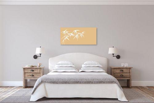 תמונה לחדר שינה - נעמי עיצובים - ענף במבוק בהיר - מק''ט: 162718