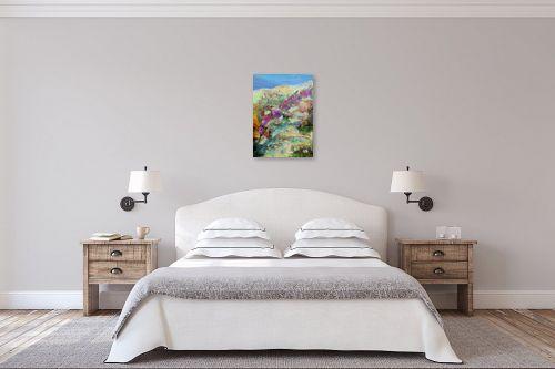 תמונה לחדר שינה - רינה יניב - חלמוניות במעלה הואדי - מק''ט: 163233