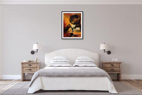 תמונה לחדר שינה - חגי עמנואל - הרב קוק - מק''ט: 163608