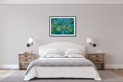 תמונה לחדר שינה - רינה יניב - בגן הבוטני - מק''ט: 164127