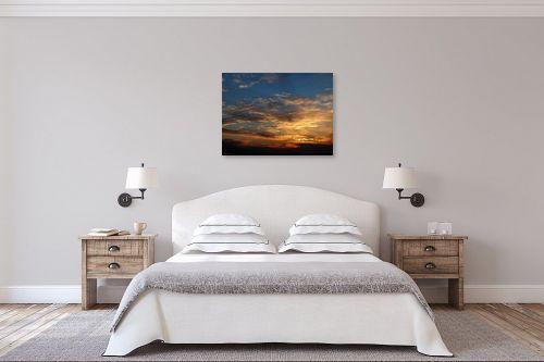 תמונה לחדר שינה - ארי בלטינשטר - שקיעה חורפית 03 - מק''ט: 167262