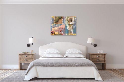 תמונה לחדר שינה - יונה ראובני - טוליפים - מק''ט: 169143