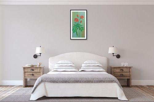 תמונה לחדר שינה - רינה יניב - זר ורדים - מק''ט: 169573