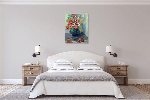 תמונה לחדר שינה - רינה יניב - סידור פרחים - מק''ט: 169768