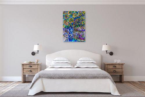 תמונה לחדר שינה - בן רוטמן - פרחים דימיונים - מק''ט: 170945