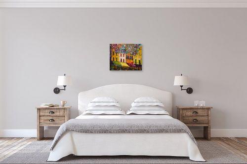 תמונה לחדר שינה - רוחלה פליישר - בצל העץ השמח - מק''ט: 173139
