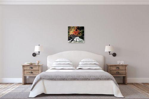 תמונה לחדר שינה - ציפי נוימן - גינה אביבית - מק''ט: 173614