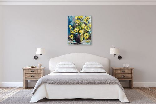 תמונה לחדר שינה - שולי חיימזון - פרחים - מק''ט: 174947