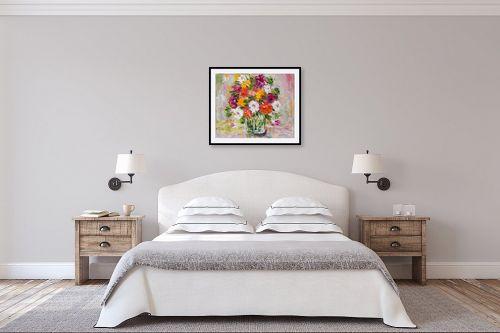 תמונה לחדר שינה - שולי חיימזון - פרחים - מק''ט: 174952