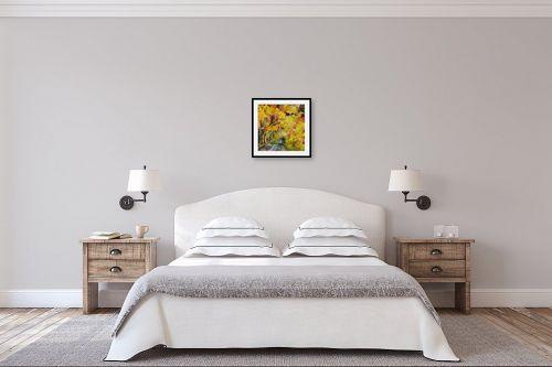 תמונה לחדר שינה - חגי עמנואל - יער בשלכת - מק''ט: 191165