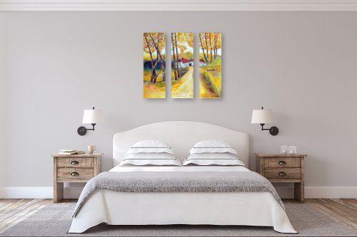 תמונה לחדר שינה - רינה יניב - בית אכרים בכפר - מק''ט: 198455