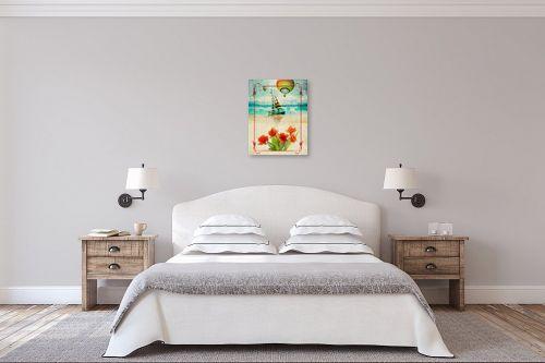 תמונה לחדר שינה - רוזה לשצ'ינסקי - נוף ים - מק''ט: 205901