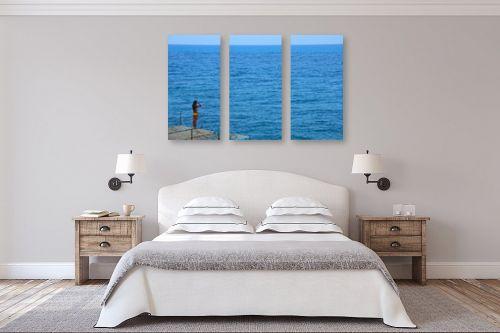תמונה לחדר שינה - אלי נגר - שער הים - מק''ט: 206035