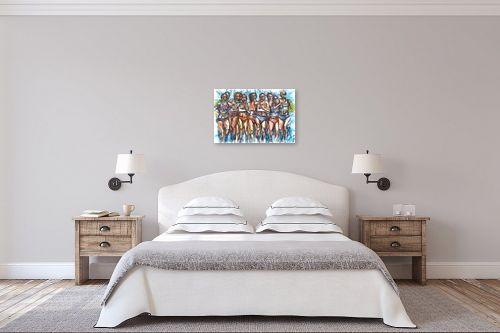 תמונה לחדר שינה - בן רוטמן - העצמה נשית - מק''ט: 208803