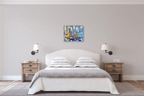 תמונה לחדר שינה - בן רוטמן - סירות ללא מוצא - מק''ט: 209013