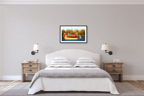 תמונה לחדר שינה - ויקטוריה רייגירה - לא כולנו באותה סירה - מק''ט: 211698