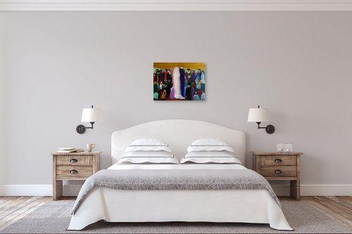תמונה לחדר שינה - אסתר חן-ברזילי - חתונה חסידית - מק''ט: 211801