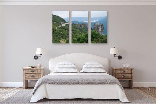 תמונה לחדר שינה - אורי לינסקיל - מנזר על ראש הצוק - מק''ט: 211918