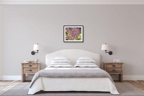 תמונה לחדר שינה - חיה וייט - פרחים בפארק - מק''ט: 213145