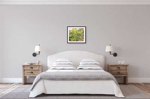 תמונה לחדר שינה - חיה וייט - פריחה באביב - מק''ט: 213161