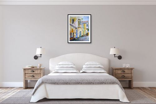 תמונה לחדר שינה - חיה וייט - בדרך לשוק - מק''ט: 213216