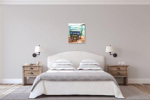 תמונה לחדר שינה - חיה וייט - ליד הגלים - מק''ט: 213222