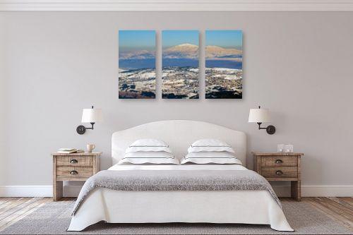 תמונה לחדר שינה - ארי בלטינשטר - צפת הלבנה. - מק''ט: 218122