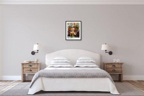 תמונה לחדר שינה - בן רוטמן - רפסודיה לגב חשוף - מק''ט: 218871