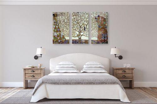 תמונה לחדר שינה - גוסטב קלימט - עץ החיים tree of life - מק''ט: 226225