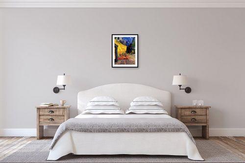 תמונה לחדר שינה - וינסנט ואן גוך - מרפסת בית הקפה  - מק''ט: 226275