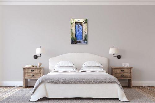 תמונה לחדר שינה - ויויאן נתן - דלת כחולה בימין מושה - מק''ט: 226819