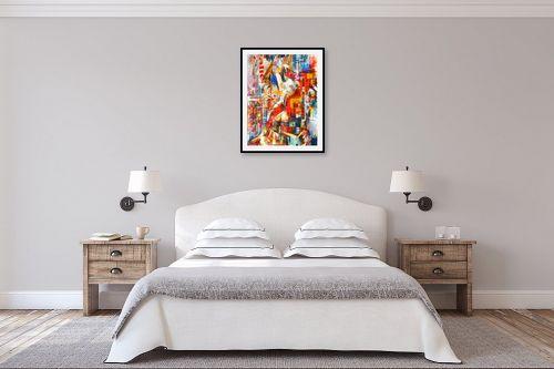 תמונה לחדר שינה - בן רוטמן - סינימה סיטי - מק''ט: 229379