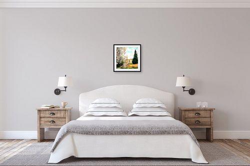 תמונה לחדר שינה - חיה וייט - שקדיה בעין כרם - מק''ט: 229787