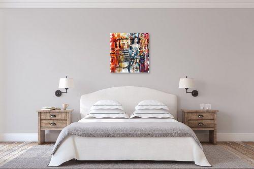 תמונה לחדר שינה - בן רוטמן - החלונות הגבוהים - מק''ט: 230033