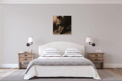 תמונה לחדר שינה - עדי גולדברג - צעקה - מק''ט: 23190