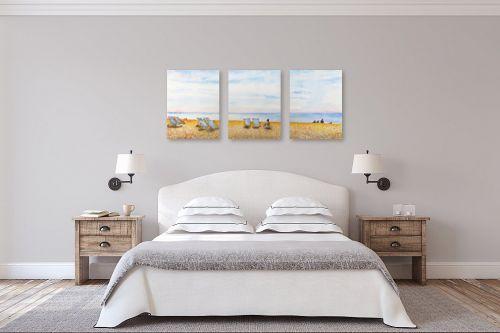 תמונה לחדר שינה - חיה וייט - חוף ים בברייטון - מק''ט: 234414