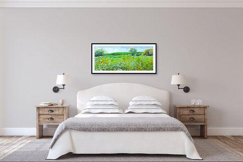 תמונה לחדר שינה - חיה וייט - עמק ירוק - מק''ט: 235367