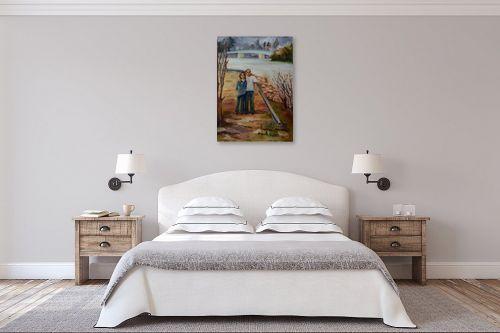 תמונה לחדר שינה - שרה וולקוב - מחוץ לעיר - מק''ט: 236279