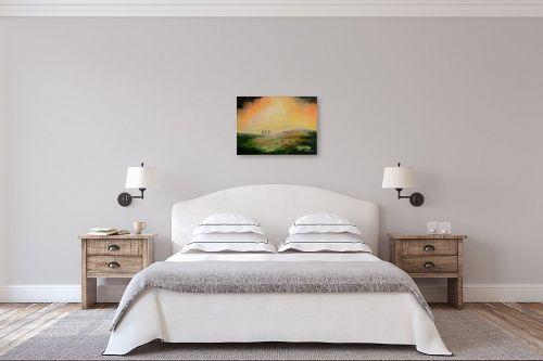 תמונה לחדר שינה - שרה וולקוב - זריחה - מק''ט: 236292