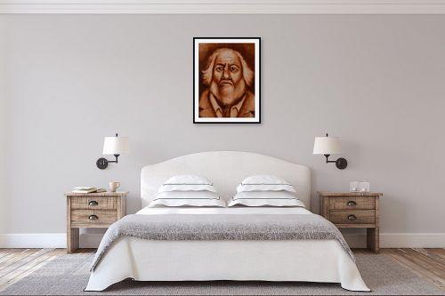 תמונה לחדר שינה - שרה וולקוב - סבא - מק''ט: 236328