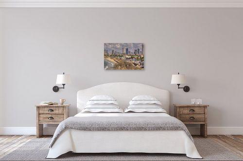 תמונה לחדר שינה - אורי ברוך - חוף תל אביב - מק''ט: 239238