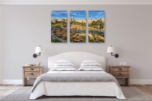 תמונה לחדר שינה - מיכאל שמידט - עיר דוד - מק''ט: 239805