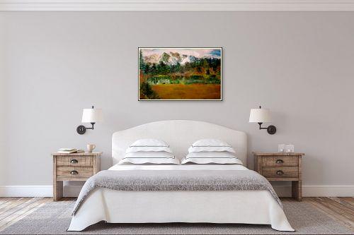 תמונה לחדר שינה - שולי חיימזון - נוף הררי - מק''ט: 240934
