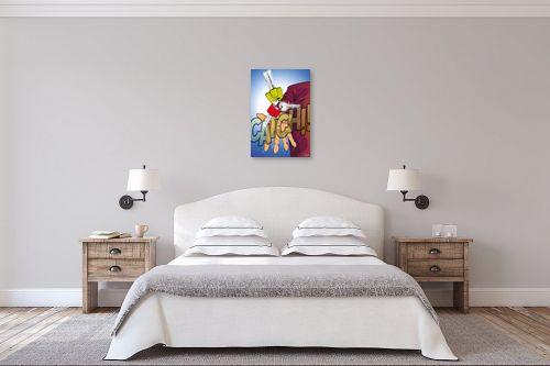 תמונה לחדר שינה - חנן אביסף - תפוס את המפתח - מק''ט: 241565