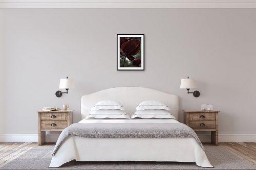 תמונה לחדר שינה - אוהד דאיה - Red Red Red - מק''ט: 245968