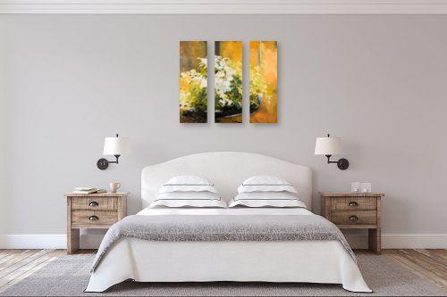 תמונה לחדר שינה - חגי עמנואל - הורדים הלבנים של המלך דוד - מק''ט: 246996