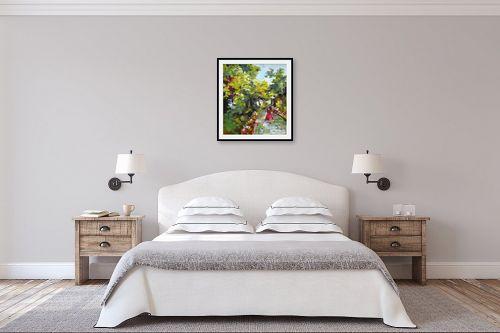 תמונה לחדר שינה - חגי עמנואל - בשמלה אדומה - מק''ט: 247023
