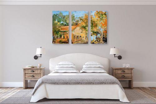 תמונה לחדר שינה - חגי עמנואל - הבית הטמפלרי - מק''ט: 247026