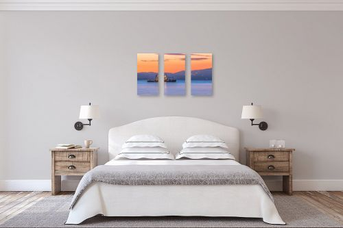 תמונה לחדר שינה - מיכאל שמידט - דייג אוהב דגים? - מק''ט: 248102